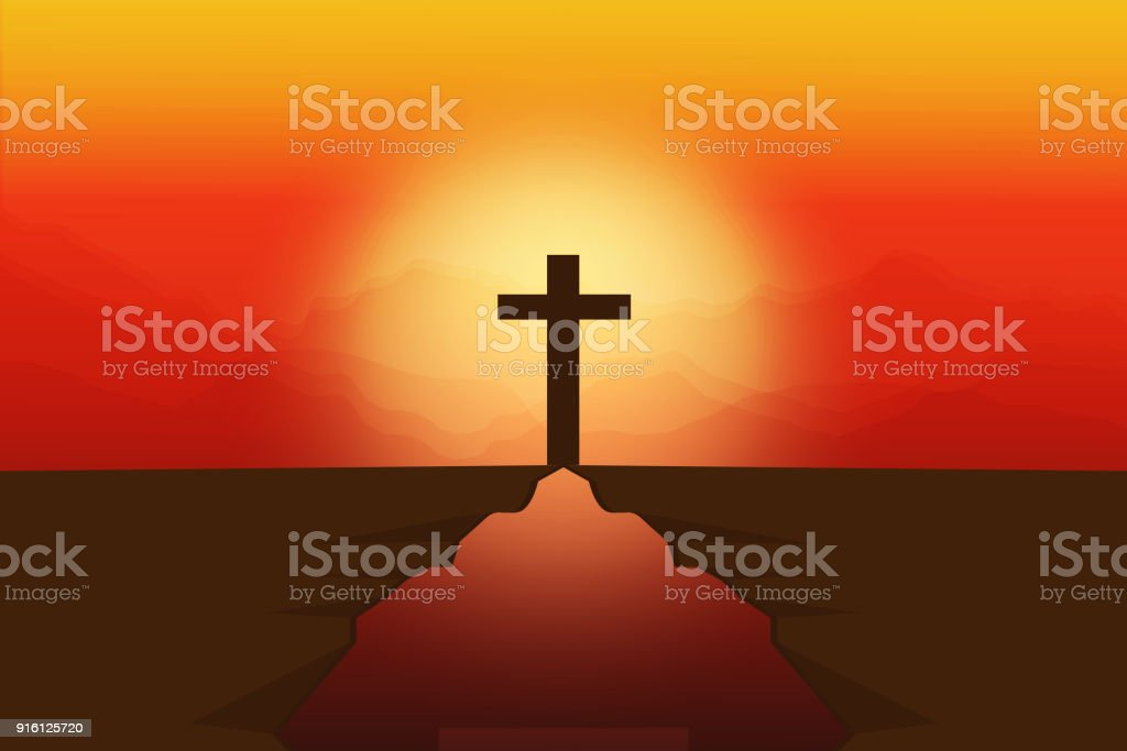 Crosses Symbols Of Death Love And Eternal Life Stock Vector Art