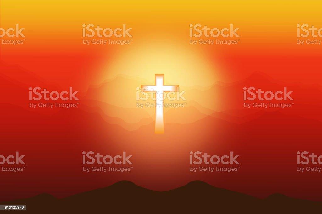 Crosses Symbols Of Death Love And Eternal Life Stock Vector Art
