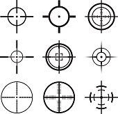 Crosshair Icons Set