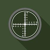 Crosshair Military Icon