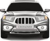 Crossover car (SUV)