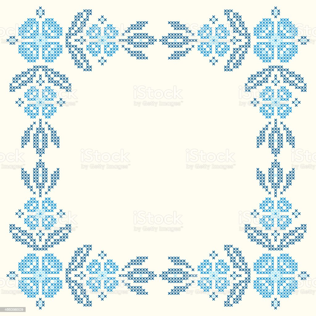 Cross-stitch embroidery in Ukrainian style royalty-free crossstitch embroidery in ukrainian style stock vector art & more images of abstract