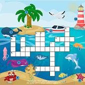 Magazin Buch Puzzlespiel Des Meeres Unterwasser Ozean Fischen Und ...