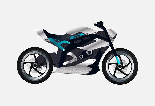 Crotch rocket bike