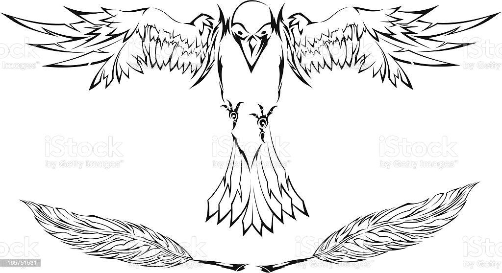 Krähe Stock Vektor Art und mehr Bilder von Adler 165751531 | iStock