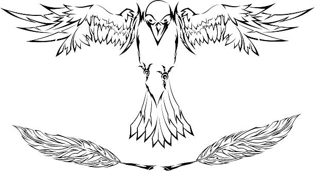 Royalty Free Black Eagle Clip Art, Vector Images