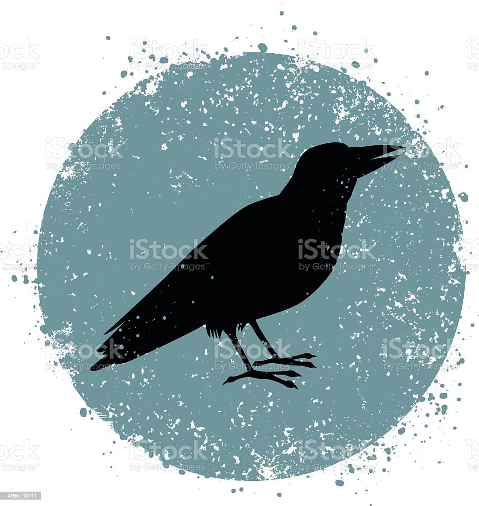 Crow royalty-free crow stock vector art & more images of acute angle