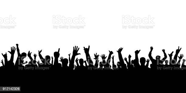 Crowd of applause at the concert isolated silhouette cheering people vector id912142326?b=1&k=6&m=912142326&s=612x612&h= efod3uu urjosvm3x5ushhamiz5nfqlbwxo95xami4=