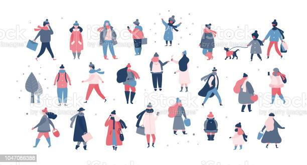 Crowd of people in warm winter clothes walking on street going to vector id1047086388?b=1&k=6&m=1047086388&s=612x612&h=r7os3i6qjarsrnsecnwreecgimljomtak3hq42b3a e=