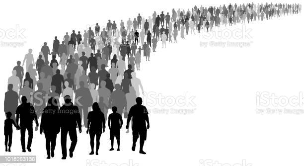 Crowd of people silhouette vector resettlement of refugees emigrants vector id1018263136?b=1&k=6&m=1018263136&s=612x612&h=lcrlozoxbhtxj2kyjjuaglaivdyd4mf8t wpx0bqguw=