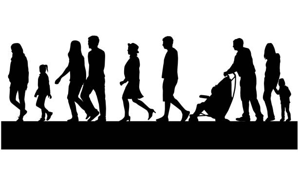 Walking Clip Art, Vector Images & Illustrations - iStock