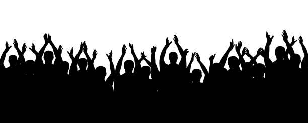 Cartoon Of The Dancer People Dance Shadow Party Music ... (612 x 245 Pixel)