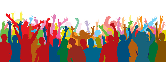 Crowd Stock Illustration - Download Image Now