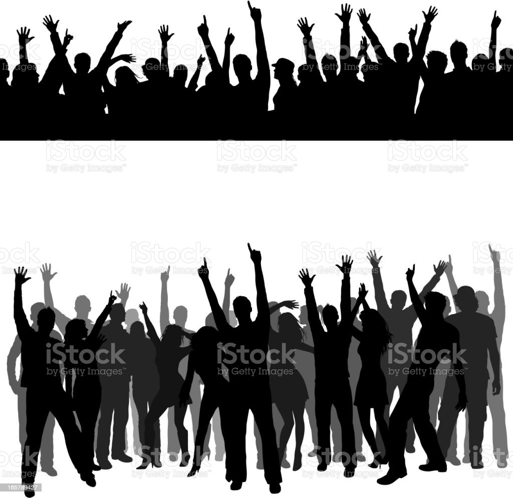 Crowd royalty-free crowd stock vector art & more images of adult