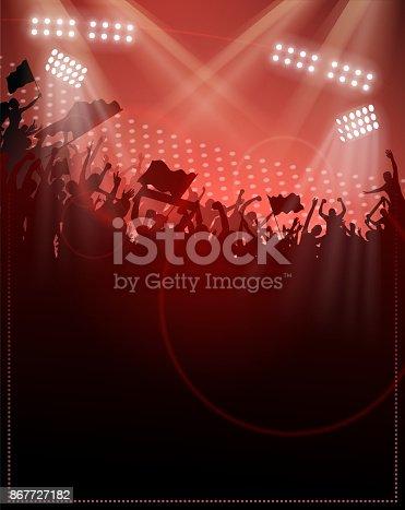 istock crowded fun silhouette 867727182
