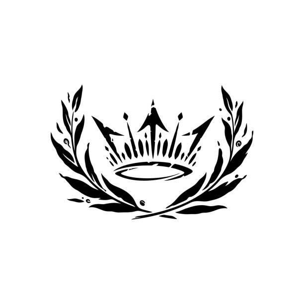 Krone Emblem – Vektorgrafik