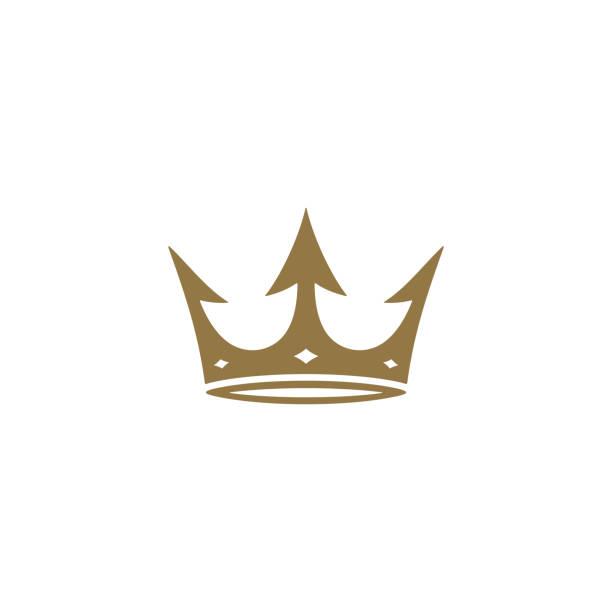 Krone-Ikone – Vektorgrafik
