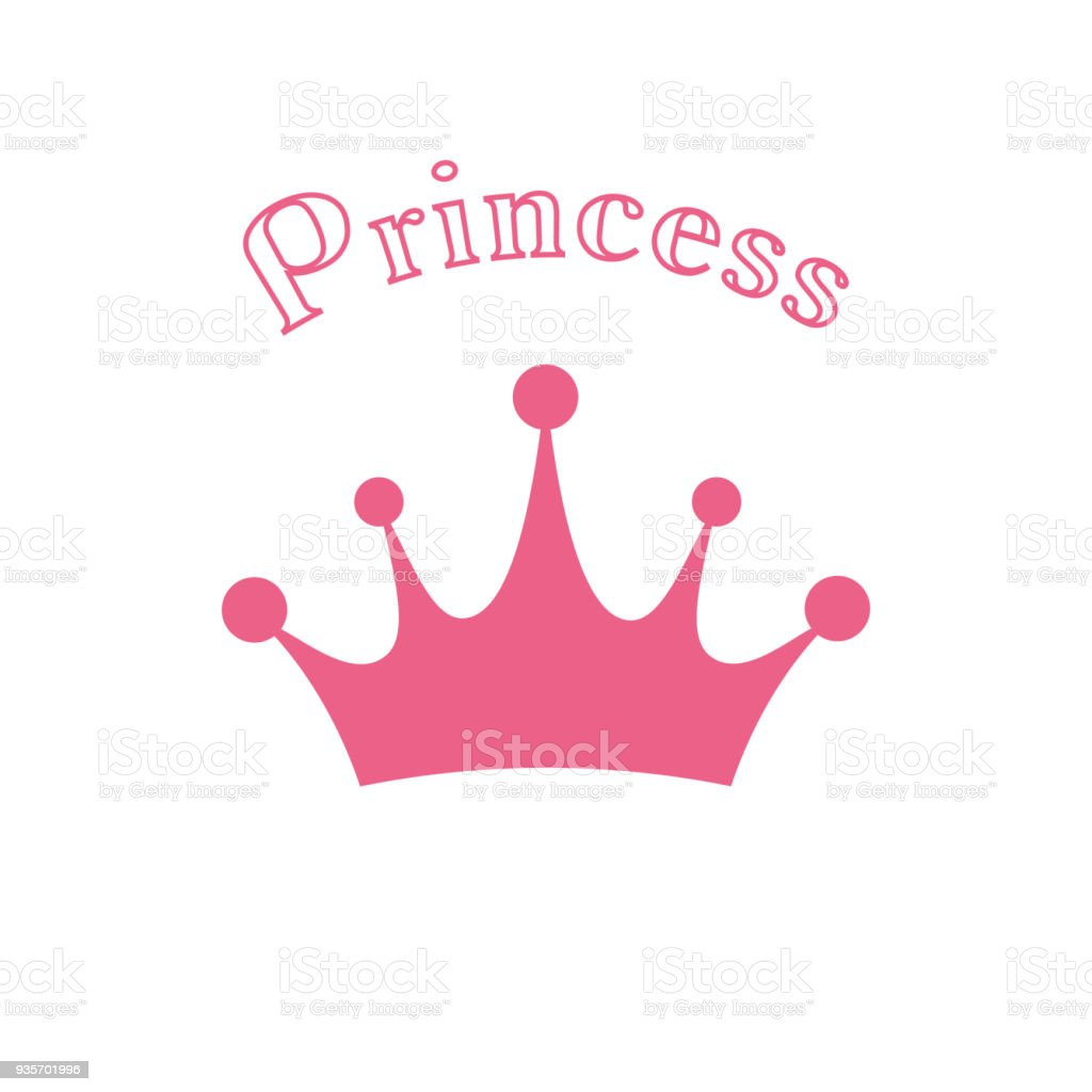crown icon vector princess crown stock vector art more images of
