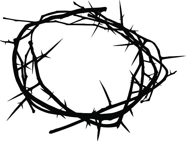 Top 60 Crown Of Thorns Clip Art, Vector Graphics And