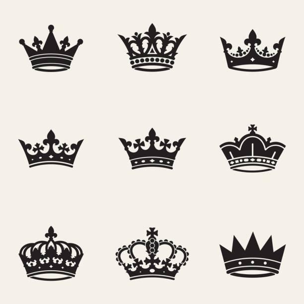 皇冠 сollection - 皇冠 頭飾 幅插畫檔、美工圖案、卡通及圖標