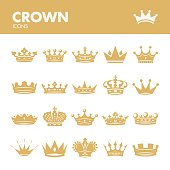 Crown. Royal symbols