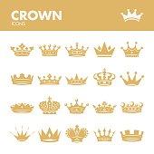 Crown. Royal symbols