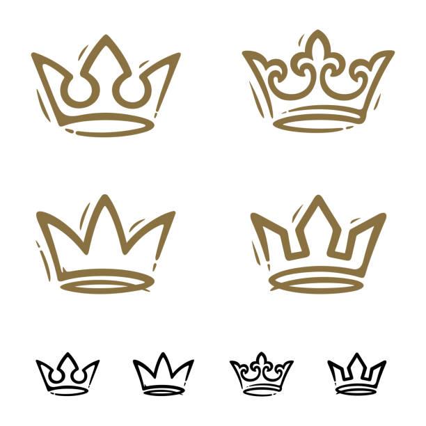 Kronenset – Vektorgrafik