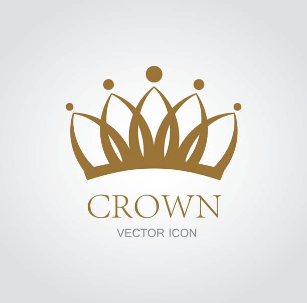 Símbolo de corona - ilustración de arte vectorial