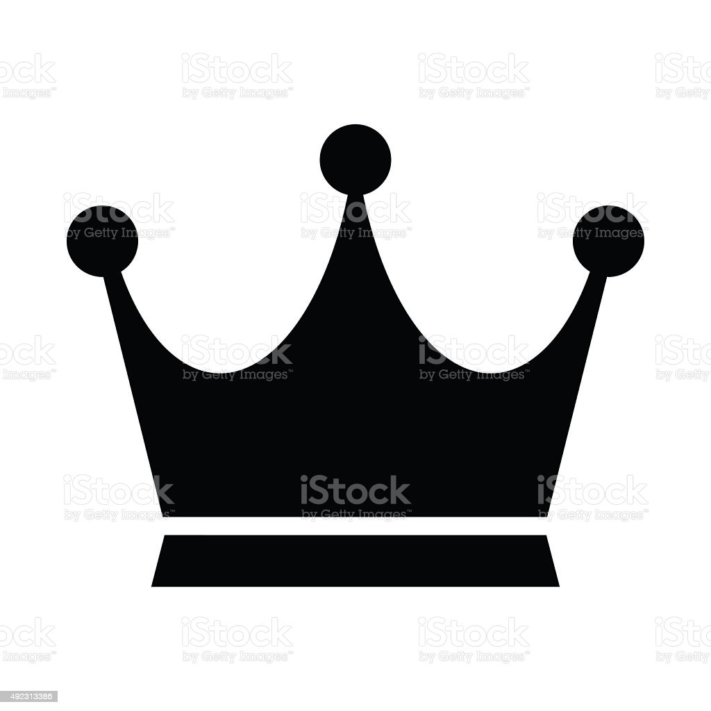 crown vector icon stock vector art more images of 2015 492313386 rh istockphoto com crown vector free crown vector art