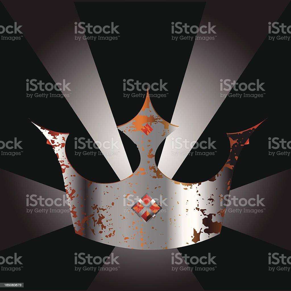 Crown royalty-free stock vector art