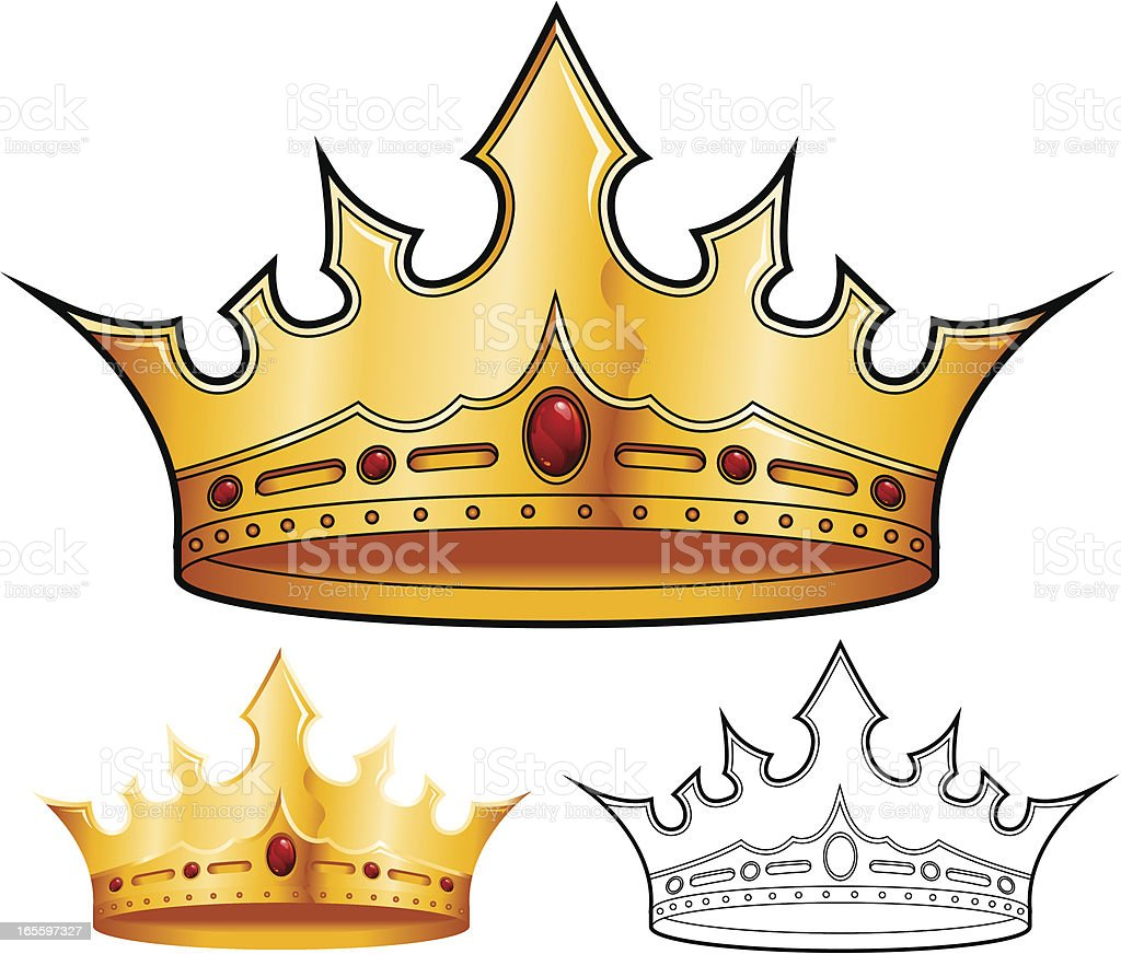 Crown royalty-free crown stock vector art & more images of authority