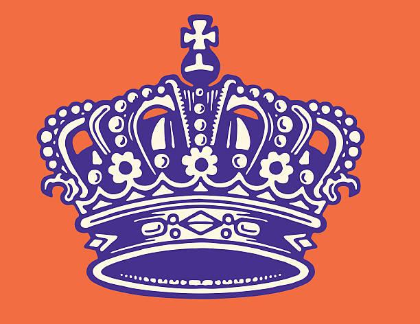 illustrations, cliparts, dessins animés et icônes de crown - couronne reine