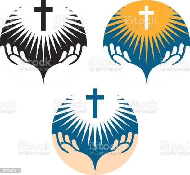 Crucifix symbol crucifixion of jesus christ icons church logo vector id627582314?b=1&k=6&m=627582314&s=612x612&h=wb2zg98wnwrtxaedn qgvfseqixbzkdjy95 f2rsif8=