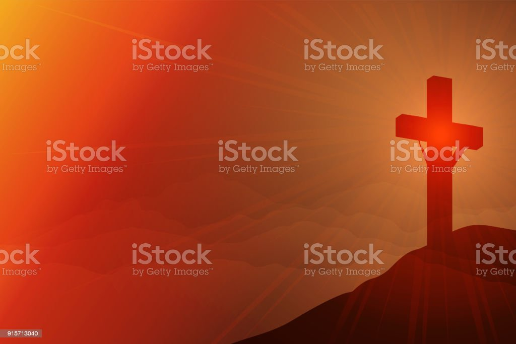 死愛と永遠の生命のキリストの磔...