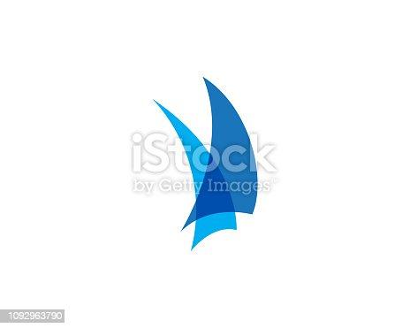 istock Cruise ship Vector icon 1092963790