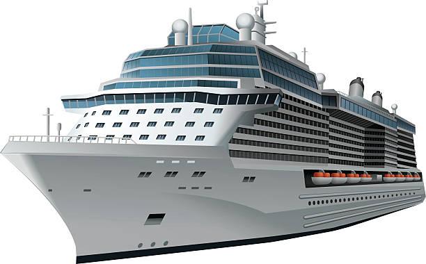 illustrations, cliparts, dessins animés et icônes de navire de croisière - croisière