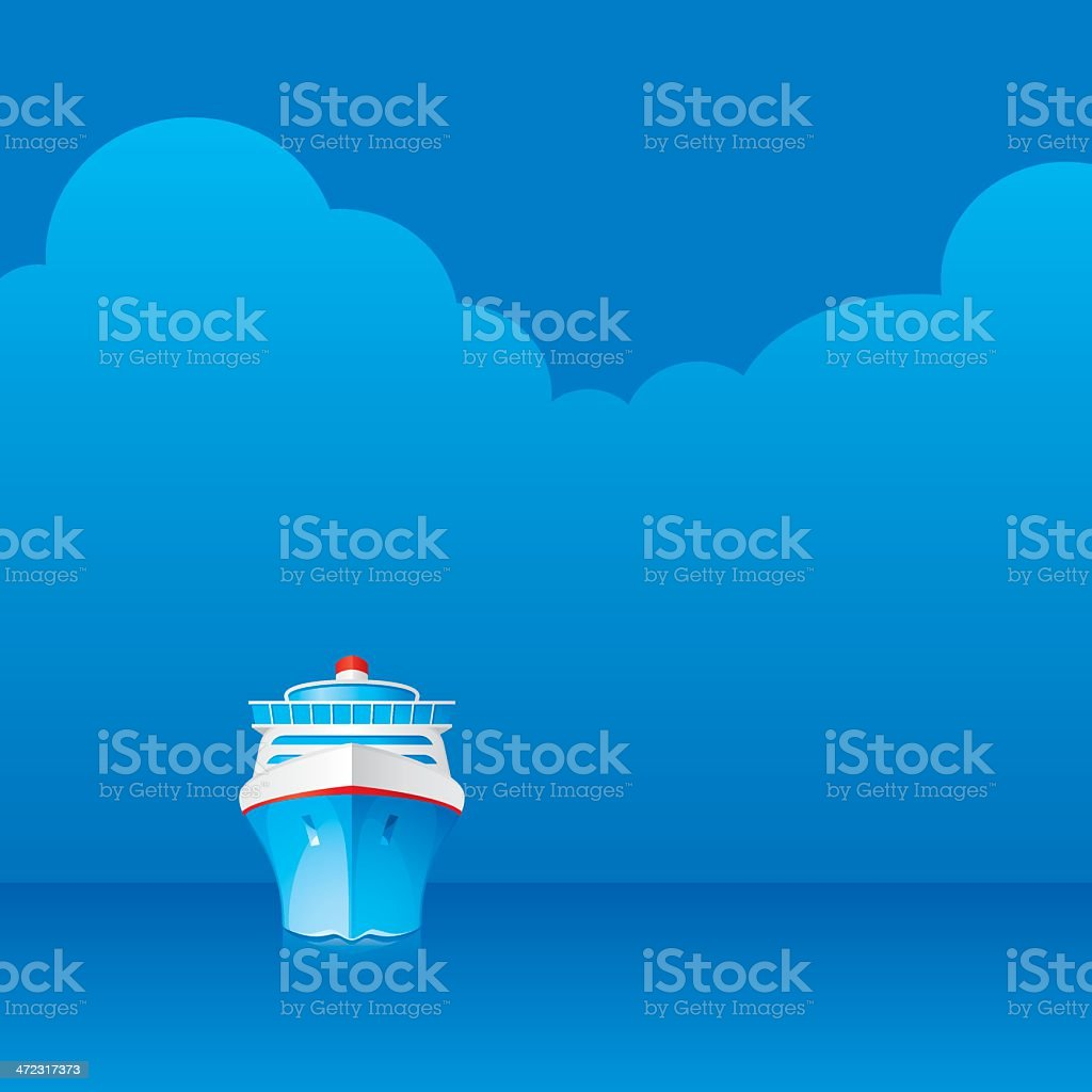 Cruise royalty-free stock vector art