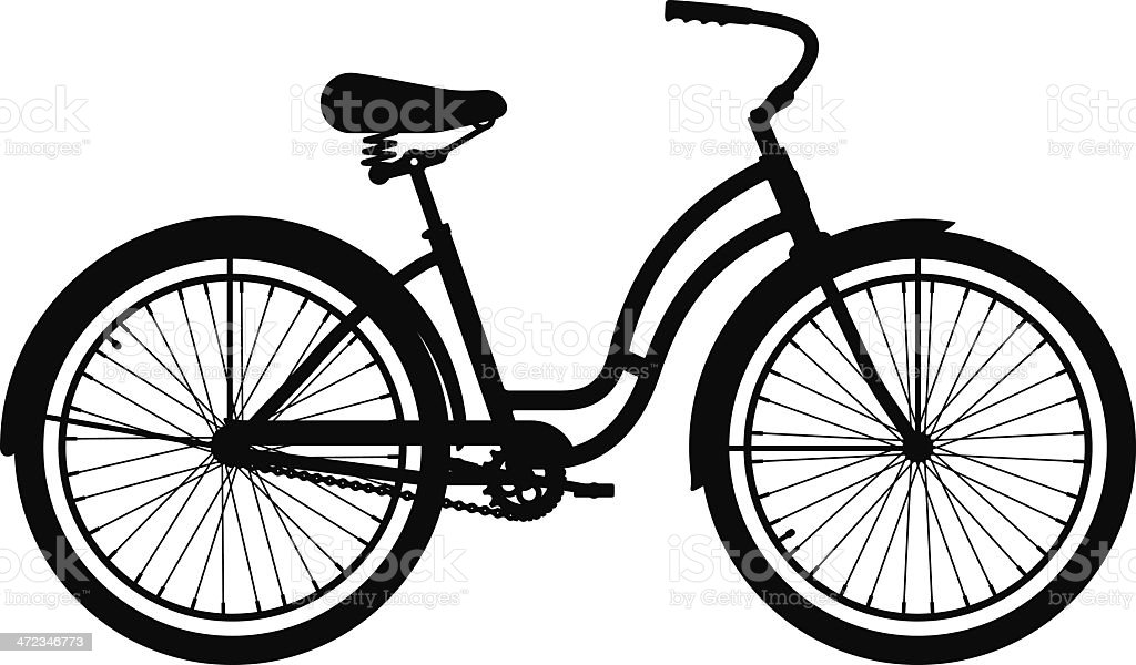 Cruiser Bike royalty-free cruiser bike stock vector art & more images of bicycle