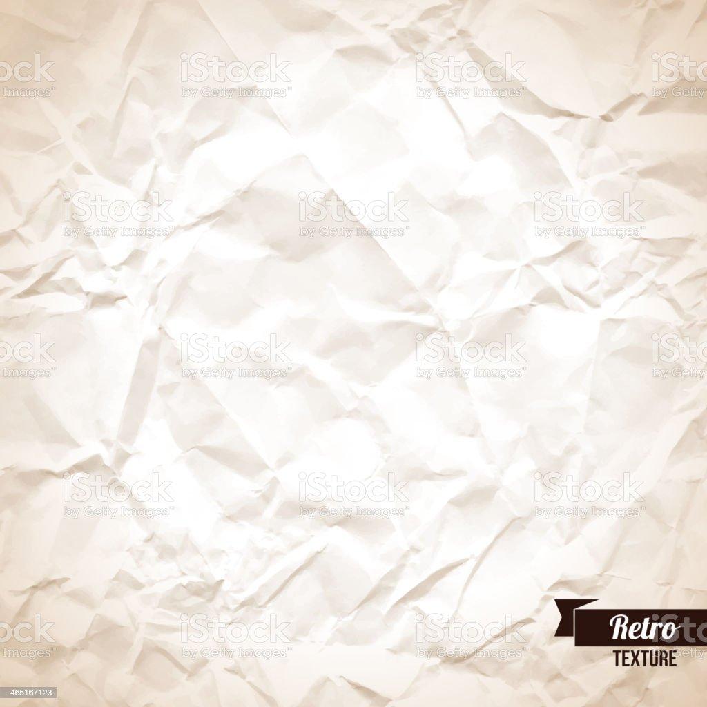 Fond De Papier Froissé – Cliparts vectoriels et plus d ...