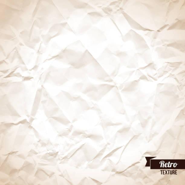 ilustraciones, imágenes clip art, dibujos animados e iconos de stock de papel arrugado fondo. - fondos arrugados