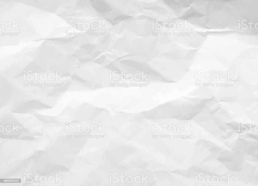 Ilustración De Textura Papel Arrugado Fondo De Papel