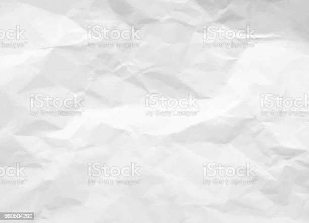 Crumpled paper texture white battered paper background white empty vector id960504202?b=1&k=6&m=960504202&s=612x612&h=hbbblnfxwhdpsw37 uecqfr tpjkfrfq0 vu51kntpy=