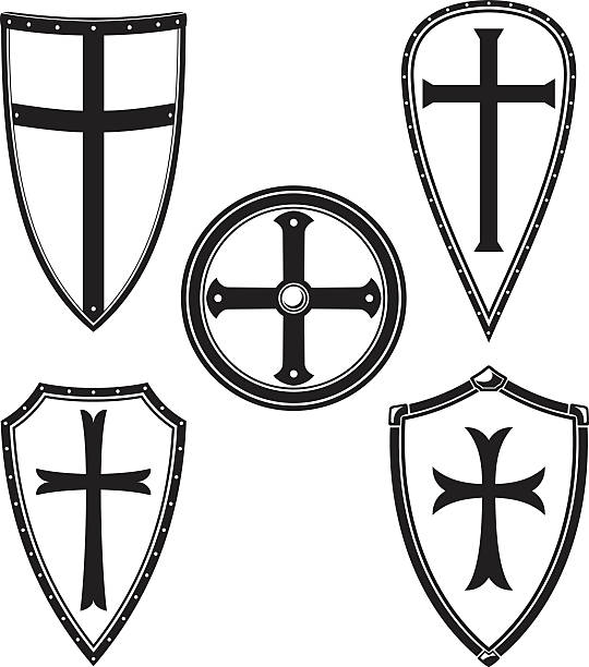 Best The Crusades Illustrations, Royalty-Free Vector