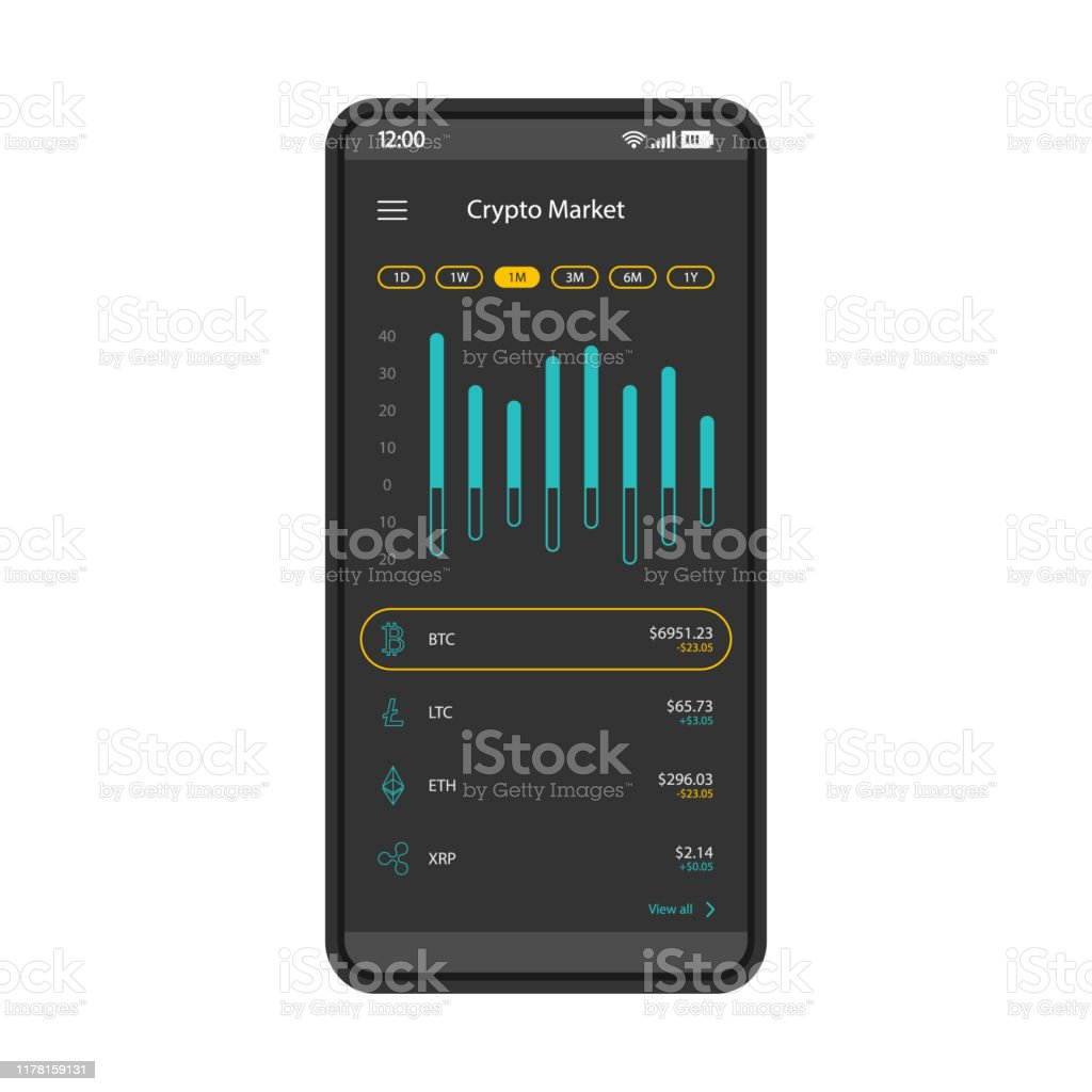 cryptocurrency stock market app