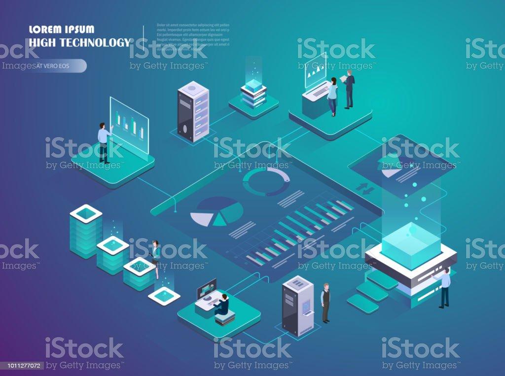 Inicio crypto. Mercado de dinero digital. - ilustración de arte vectorial