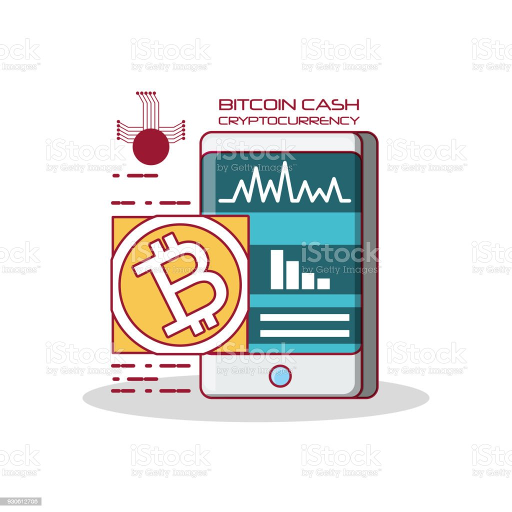 Design Bank Twist.Cryptocurrency Exchange Design Stock Illustration Download Image