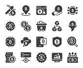 istock Cryptocurrency - Icons 1300312016