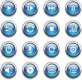 Crystal Icons Set | Media