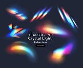 istock Crystal Rainbow Light Effects 1271519904