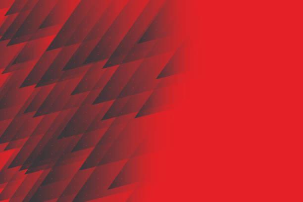 ilustrações de stock, clip art, desenhos animados e ícones de crystal triangle background. vector illustration - vr red background